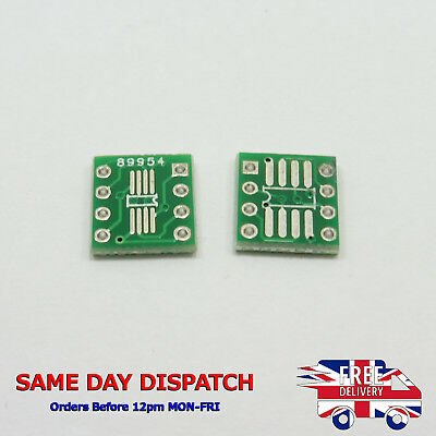 SMD IC Chip SOP8 to DIP-8 Adapter Plate PCB Integrated Circuit SO SIO8 MSOP
