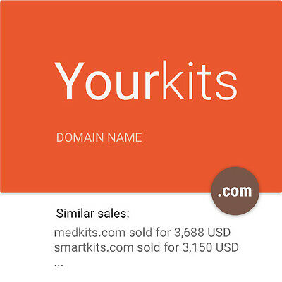 YOURKITS.COM 2 WORD Dictionary Premium website Domain name for sale HIGH VALUE