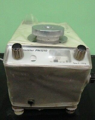 Mettler Top Load Laboratory Balance Lab Scale Model PN1210 PN-1210 Used