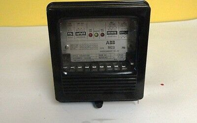ABB Type MCO Overcurrent Relay Style 1354D01A02 Schematic 1353D99 Used Condition