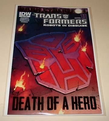 The TRANSFORMERS : ROBOTS IN DISGUISE # 27  IDW Comic  March 2014   NM