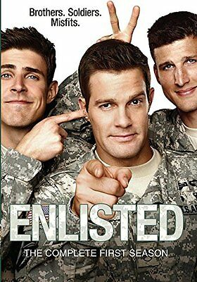 NEW Enlisted: The Complete First Season (DVD)