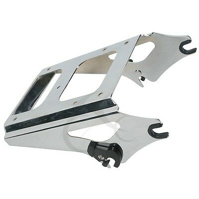 Detachable Two Up Tour Pak Pack Mounting Rack for Harley Davidson Touring 09-13