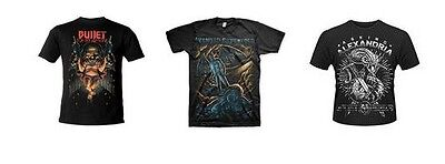 BULLET FOR MY VALENTINE avenged sevenfold ASKING ALEXANDRIA - OFFICIAL TSHIRT