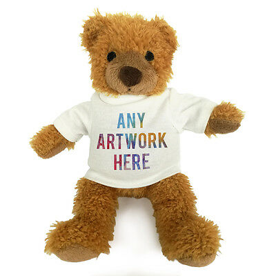 1 Personalised Promotional Soft Toy Harry Teddy Bear Gift Business Logo Printed