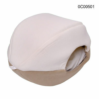 Dog Cat Cave Bed Pet Comfortable Soft Cuddly Sleeping Bed Beige S Free Postage