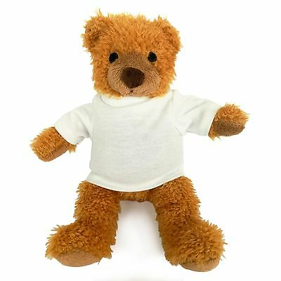 1 x PRINTABLE HARRY TEDDY BEAR WITH BLANK TSHIRT IDEAL 4 SUBLIMATION TRANSFERS