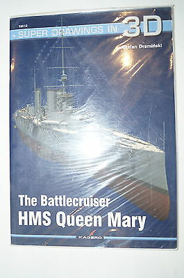 WW1 British RN The Battlecruiser HMS Queen Mary Kagero 6012 Reference Book