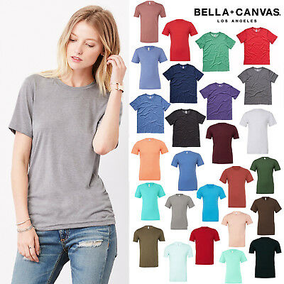 Bella + Canvas Unisex Triblend Crew Neck T-Shirt 3413