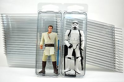 "20 - Action Figure 4"" Plastic Storage Cases - (Brand new clamshells)"