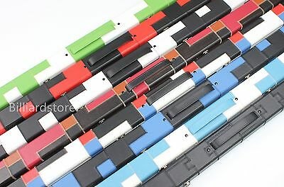One 1 Piece Patch Case Snooker Pool Hard Cue Cases Choose Your Favourite Color