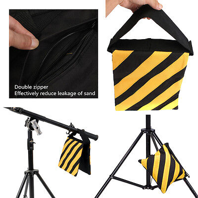 Photo Studio Counter balance Weight Sand bags for Flash Light Stand Boom Tripod