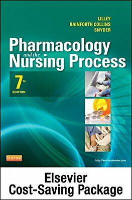 Pharmacology and the Nursing Process -- Text and Elsevier Adaptive Quizzing Pack