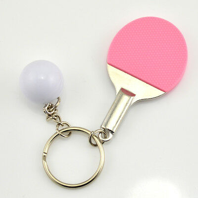 Two-piece fashion bags Table tennis keychain car key chain   SK29
