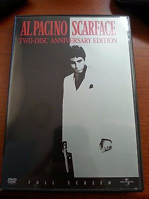 Scarface (DVD, 2003, Full screen, Two-Disc Anniversary Edition) Al Pacino
