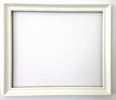 White  Modern spoon matt Frame For Canvas Different Size Frames Available