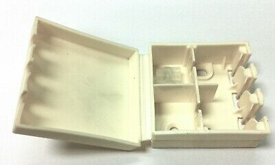 BT16A EXTERNAL CONNECTION CABLE JOINT BOX IN WHITE WITH 2x 2 WIRE JELLY CRIMPS