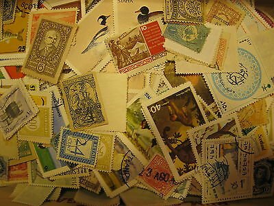 W/W & 15+ COUNTRIES MIXTURE 800+ STAMPS, MINT & USED, LOW DUPLICATION