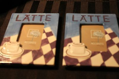 Picture Frames Set of 2  Interior Accents Latte