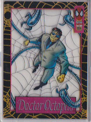 DR. OCTOPUS SUSPENDED ANIMATION 1994 AMAZING SPIDERMAN MARVEL CARD #9 of 12   J