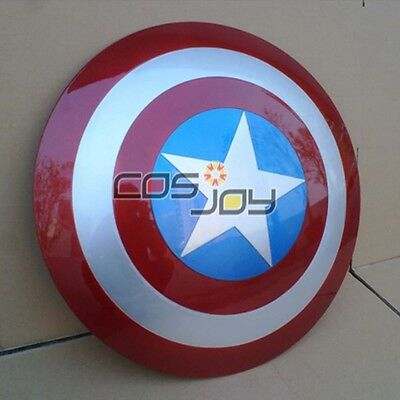 """22.5"""" Avengers: Age of Ultron Captain America Shield ABS Cosplay Prop"""