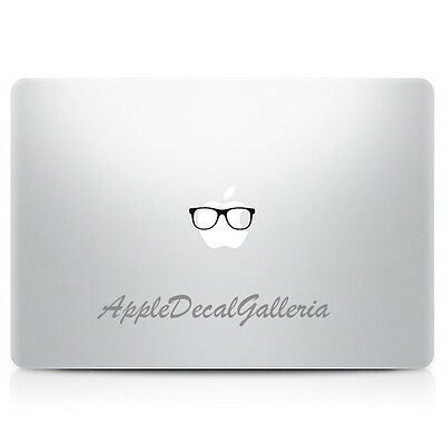 Glasses Vinyl Decal Sticker Skin for Macbook Pro Air 11 12 13 15 17 inch S-F86