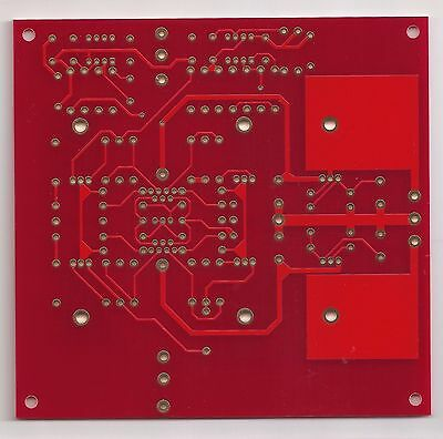 All FET class A preamplifier JC-80 PCB new version improved trace & component !
