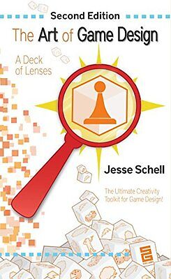 NEW The Art of Game Design: A Deck of Lenses, Second Edition by Jesse Schell