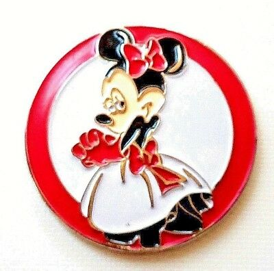 anneys - **GOLF  BALL  MARKERS - Minnie Mouse -24mm diameter**