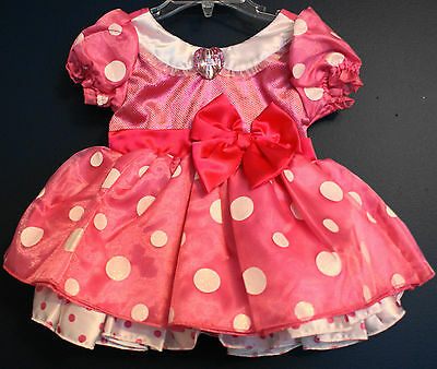 a9b8e01335cb DISNEY STORE MINNIE Mouse Pink Costume Dress NWT Girls -  35.00 ...