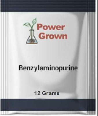 6-Benzylaminopurine 12g 99% w/ Instructions Made in USA Authentic