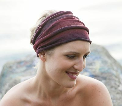 Rustic Earth Merino Hand Dyed Headwraps  Neck Scarf Hair Head Wrap