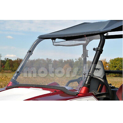 "08-14 Full NON Folding Clear Windshield For Polaris RZR 570 800 900 S 1/4"" Thick"