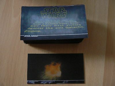 Topps Star Wars 3Di Widevision Trading Card Set + Multi Motion Card
