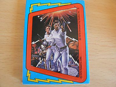 Topps Buck Rogers 1979 Trading Card Sticker Set