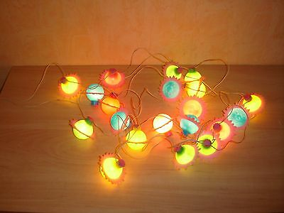 Garland Electric Space Christmas Light Stars Russian Vintage New Year toy
