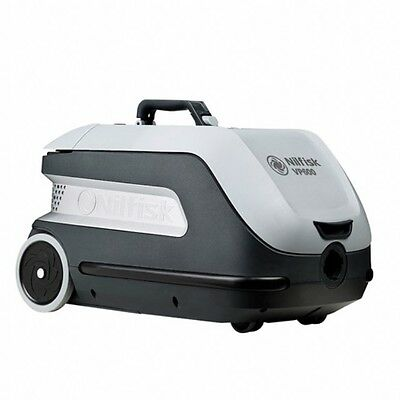 Nilfisk VP600 HEPA Commercial Cannister Vacuum with Retractable Cord