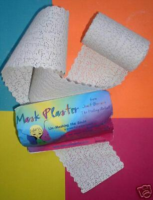 Plaster Material For Art Projects Impregnated Gauze - 6 roll Lot