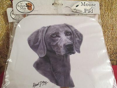 WEIMARANER by ROBERT MAY  ~  MOUSE PAD