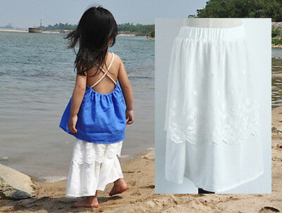 Gonna Lunga Bambina Cotone Biologico Su Misura Organic Girl Skirt Handmade 1007