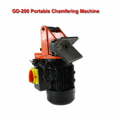 Portable Chamfer Chamfering Beveling Machine 15 - 45 Degree high quality s