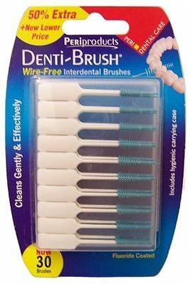 Denti-Brush Interdental Brushes Wire-Free 30
