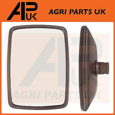 Universal Wing Mirror Head & Glass 11.5 x 8.5 Tractor Digger Lorry Truck Plant