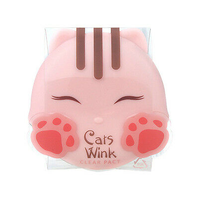 [TONYMOLY] Cats Wink Clear Pact  #1 Clear Skin [RUBYRUBYSTORE]