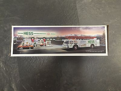 1989 Hess Fire Truck Never Opened Lot Of 6 All In Original Hess Box
