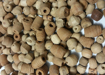 Natural Wood Bead Large Mix Wood Beads 150pc