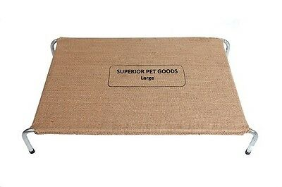Dog bed cover Superior Pet Goods Fitted Hessian Replacement Bed Cover