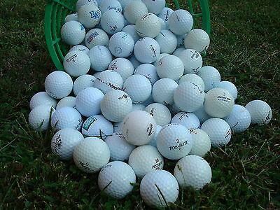 100 Palline Per Principianti  Da Golf Usate A/aa Start Mix