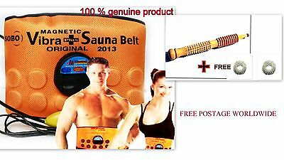 3 in 1 Sauna Belt Massager Slimming Vibrating Acupressure Vibration Fat Burner