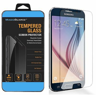 100x Wholesale Lot of 100 Tempered Glass Screen Protector for Samsung Galaxy S6